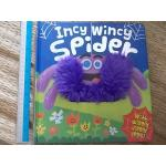 Incy Wincy Spider (With Wiggly Jiggly Legs!) Board book 10 Pages ราคา 150