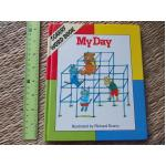 MY DAY (Scarry Word Book) Richard Scarry Hardback 23 pages ราคา 100