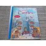 An Usborne Flap Book: See Inside CASTLES (With Over 50 Flaps to Lift) Hardback 15 Pages ราคา 150