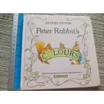 Peter Rabbit's Colours With new reproductions from the original illustrations By Beatrix Potter Hardback 38 pages ราคา 100