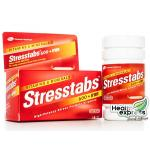 Stresstabs 600 + Iron 60 Tabs สเตร็ปแท็บซ์ + เหล็ก 60 เม็ด