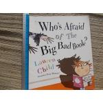 Who's Afraid of the Big Bad Book? By Lauren Child Paperback 32 Pages ราคา 100