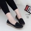 รองเท้าโลเฟอร์พื้นนิ้มสีดำ 2181-ดำ