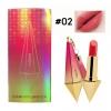 Novo Diamond Lipstick ลิปเพชรโนโว เบอร์ 02