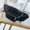 กระเป๋าคาดอก หรือคาดเอวดีไซน์สุดเท่ห์ BAG-075-ดำ (สีดำ)