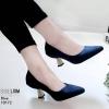 รองเท้าส้นสูงปราด้าสีน้ำเงิน LB-10172-น้ำเงิน