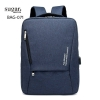แบบมาใหม่ กระเป๋าเป้ผู้ชาย ดีไซน์สุดเท่ห์ BAG-071-น้ำเงิน (สีน้ำเงิน)