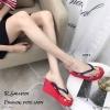 รองเท้าเตารีดคีบพอลแฟรง H001-แดง (สีแดง)