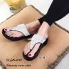 รองเท้าเพื่อสุขภาพสีเงิน แบบคีบ TA104-เงิน