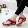 รองเท้าแตะหูคีบสีแดง 2332-แดง