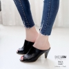 รองเท้าส้นสูงสีดำ ปราด้า LB-10207-ดำ