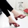 รองเท้าส้นสูงสีแดง Maxi 939-69-แดง