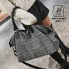 กระเป๋าสะพายกระเป๋าถือ แฟชั่นนำเข้า travel bag ไซส์ใหญ่ใส่ของจุใจ MB18-00302-GRY (สีเทา)