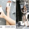 รองเท้าแตะผู้หญิงสีขาว สไตล์YSL sandals LB-602-WHI