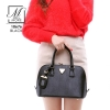 กระเป๋าสะพายกระเป๋าถือ แฟชั่นนำเข้าดีไซน์คุณหนู แบรนด์ axixi แท้ 10676-BLK (สีดำ)