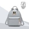 กระเป๋าสะพายเป้กระเป๋าถือ เป้แฟชั่นนำเข้าดีไซน์สุด cute B22314-GRY (สีเทา)