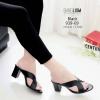 รองเท้าส้นสูงสีดำ Maxi 939-69-ดำ