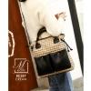 กระเป๋าสะพายกระเป๋าถือ แฟชั่นนำเข้าแบรนด์ BEIBAOBAO ดีไซน์เก๋ส์ BC327-CRM [สีครีม]