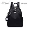 แบบมาใหม่ ทรงสุดฮิต กระเป๋าเป้ผู้หญิงผ้าไนล่อนอย่างดี BAG-059-ดำ (สีดำ)