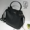 กระเป๋าสะพายกระเป๋าถือ แฟชั่นนำเข้า design เรียบหรู 12233-BLK (สีดำ)