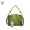 แบบมาใหม่ กระเป๋าสะพายผู้หญิงหนังอยู่ทรง 8081-เขียว (สีเขียว)