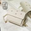 กระเป๋าสะพายกระเป๋าถือ แฟชั่นนำเข้าดีไซน์สุดชิคทรง box AX-12348-CRM (สีครีม)