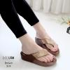 รองเท้าพื้นสุขภาพสีน้ำตาล ชนชอป LB-319-น้ำตาล