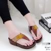 รองเท้าสุขภาพเสริมบุคลิกภาพสีน้ำตาล LB-317-1-น้ำตาล
