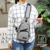 กระเป๋าแฟชั่นงานนำเข้าทรงแบบคาดยอดฮิต MB18-01805-GRY (สีเทา)
