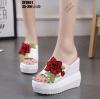 รองเท้าส้นเตารีดสีขาว ST0851-WHI