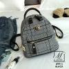 กระเป๋าสะพายเป้กระเป๋าถือ เป้แฟชั่นนำเข้าแบรนด์ BEIBAOBAO แท้ B9911-BLK (สีดำ)