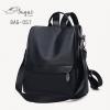 กระเป๋าเป้ผู้หญิงสะพายแบบน่ารัก สะพายได้หลายแบบ BAG-057-ดำ (สีดำ)
