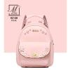 กระเป๋าสะพายเป้กระเป๋าถือ เป้แฟชั่นนำเข้าดีไซน์สุดน่ารัก B3128-PNK (สีชมพู)