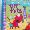 Happy Pets (With 4 Pop-up Sliders) Board book 10 Pages ราคา 130