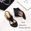 รองเท้าเตารีด แบบคีบ mcm 915-78-BLK (สีดำ)