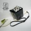 กระเป๋าสะพายกระเป๋าถือ แฟชั่นนำเข้างานสุดเก๋ส์ AX-12251-BLK (สีดำ)
