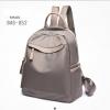 กระเป๋าเป้ผู้หญิงผ้าไนล่อนอย่างดี กันน้ำได้ BAG-052-เทา (สีเทา)