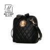 กระเป๋าสะพายกระเป๋าถือ แฟชั่นนำเข้าสุดน่ารัก AX-11247-BLK [สีดำ]