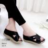 งานสวยรองเท้าเตารีดสีดำ ที่นิ่มสุดใน3 โลก LB-5214-ดำ