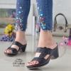 รองเท้าลำลองเพื่อสุขภาพสีดำ 579-1-ดำ