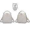 กระเป๋าสะพายเป้กระเป๋าถือ เป้แฟชั่นนำเข้าแบบสุดน่ารัก B10518-GRY (สีเทา)