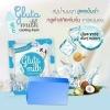 VIVI Gluta Milk Soap cooling fresh สบู่นมมุก สูตรเย็น (สีฟ้า)