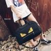 กระเป๋าเป้แฟชั่นนำเข้า style Fendi Monster BAI-315-BLK (สีดำ)