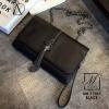 กระเป๋าสะพายกระเป๋าถือ Clutch นำเข้าดีไซน์สวย MB-17037-BLK (สีดำ)