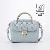 กระเป๋าสะพายกระเป๋าถือ แฟชั่นนำเข้าสไตล์สาวหวาน AX-12098-BLU [สีน้ำเงิน]