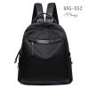กระเป๋าเป้ผู้หญิงผ้าไนล่อนอย่างดี กันน้ำได้ BAG-052-ดำ (สีดำ)