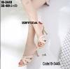 รองเท้าส้นสูงสีครีม 18-3449-CRM