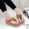 รองเท้าสุขภาพเสริมบุคลิกภาพสีทอง LB-317-1-ทอง