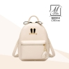 กระเป๋าสะพายเป้กระเป๋าถือ เป้แฟชั่นนำเข้าดีไซน์สุด cute B22314-CRM (สีครีม)