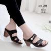 รองเท้าเพื่อสุขภาพสีดำ งานชู-ลิ-ซึ่ LB-10181-ดำ